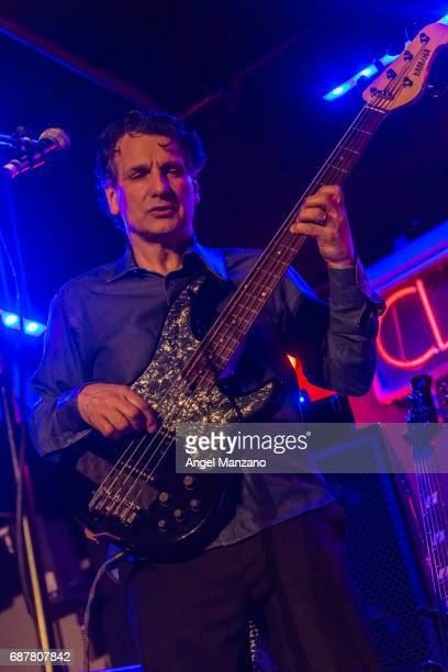 The John Patitucci Electric Guitar Quarte performs at Clamores Jazz club on May 23 2017 in Madrid Spain