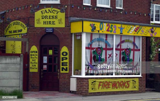 The Joke Shop in Farnborough where David Copeland purchased fireworks used to make a bomb which detonated in London's Brick Lane Copeland bought 40...