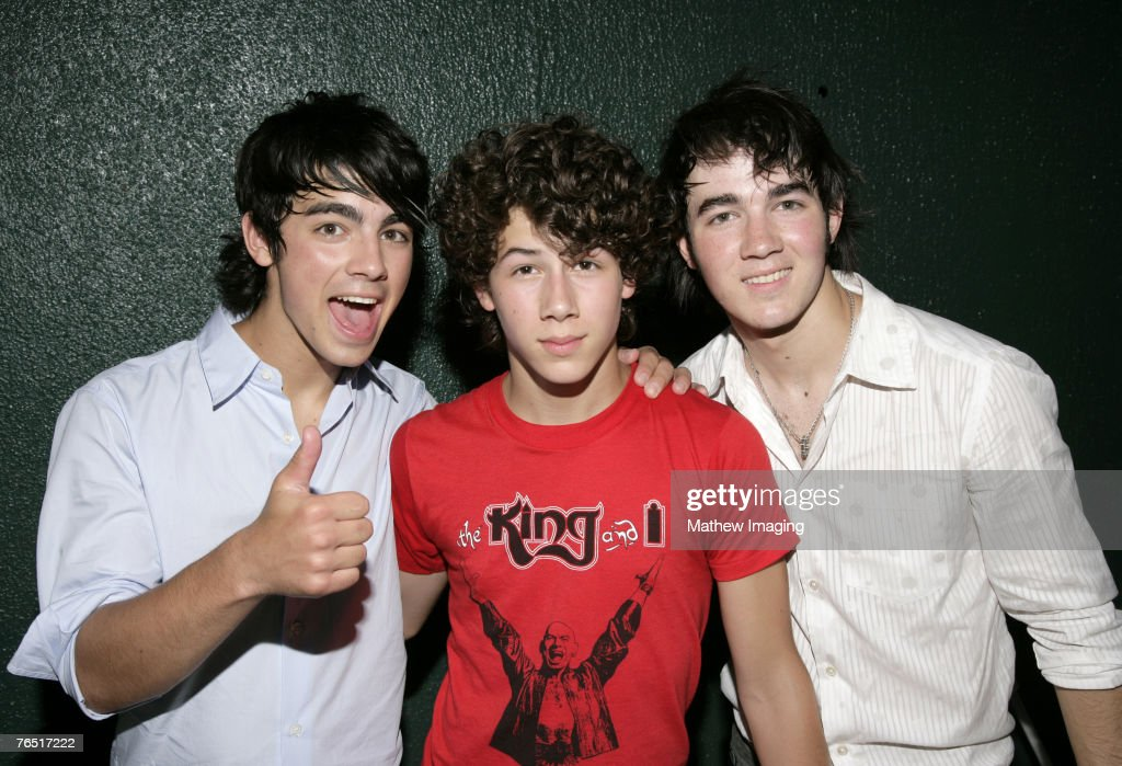 The Jonas Brothers Joseph Nick and Kevin *EXCLUSIVE*