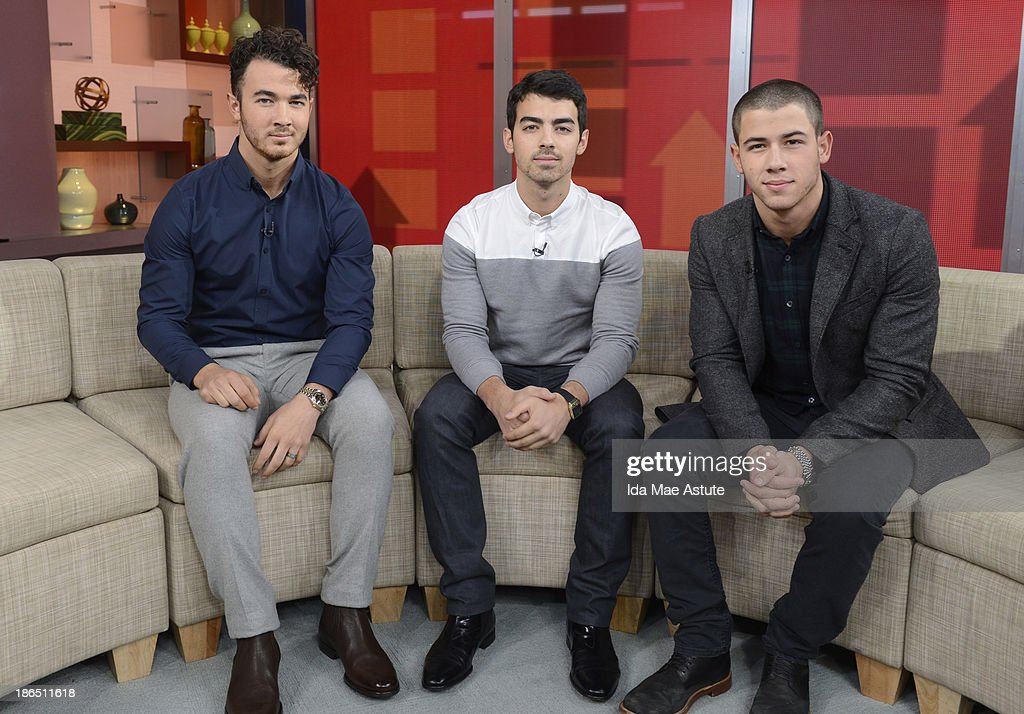 AMERICA - The Jonas Brothers officially announced they were splitting upduring a GOOD MORNING AMERICA' exclusive, 10/30/13, airing on the ABC Television Network. JONAS
