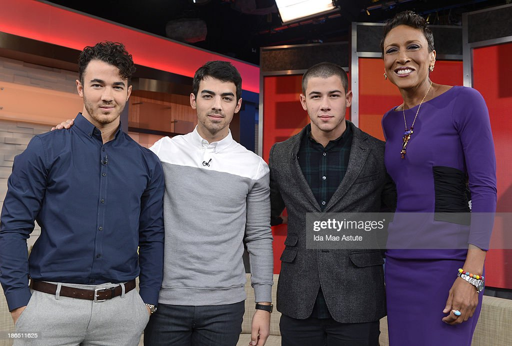 AMERICA - The Jonas Brothers officially announced they were splitting upduring a GOOD MORNING AMERICA' exclusive, 10/30/13, airing on the ABC Television Network. KEVIN
