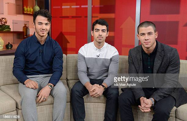 AMERICA The Jonas Brothers officially announced they were splitting upduring a GOOD MORNING AMERICA' exclusive 10/30/13 airing on the ABC Television...