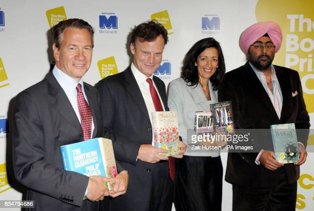 The judging panel Michael Portillo chair of the judges James Heneage founder of Ottakar's Bookshop Louise Doughty novelist and Hardeep Singh Kohli TV...