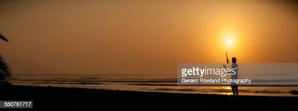 The Juggler, Sunset, Huanchaco