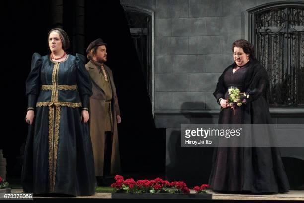 The Juilliard School presents Janacek's 'Katya Kabanova' at Peter Jay Sharp Theater on Wednesday night April 19 2017 It's directed by Stephen...
