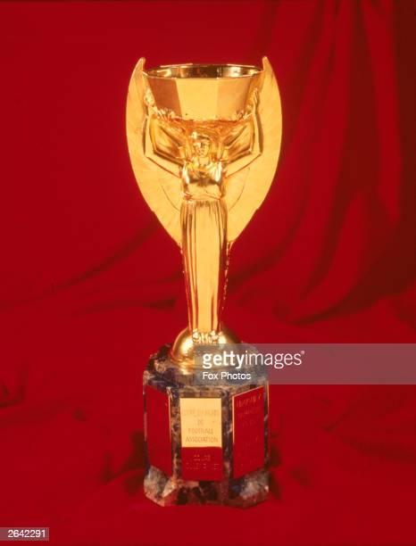 The Jules Rimet World Cup trophy