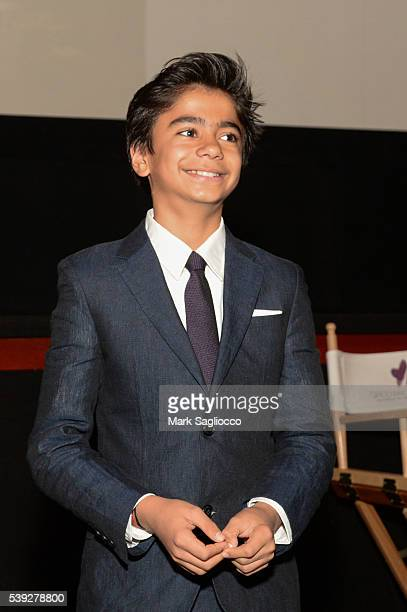 'The Jungle Book' Actor Neel Sethi attends the 2016 Greenwich International Film Festival Day 2 on June 10 2016 in Greenwich Connecticut