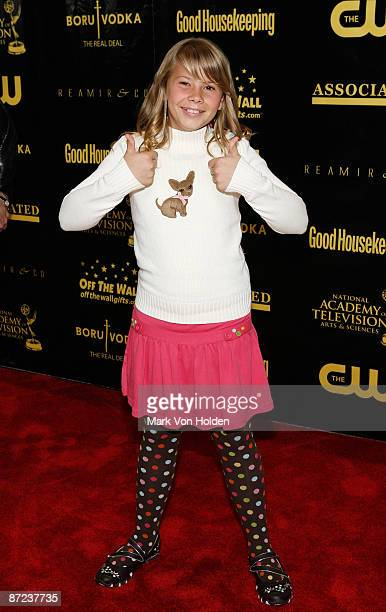 The Jungle girl Bindi Irwin attends the 36th annual Daytime Entertainment Emmy Awards Nomination party at Hearst Tower on May 14 2009 in New York City