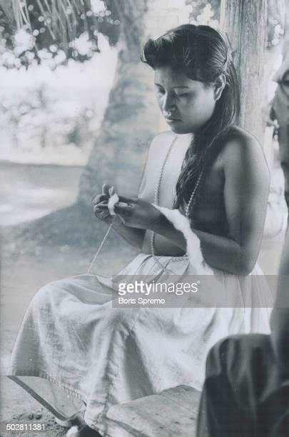 The jungles of Surinam near the Caribbean are fascinating but no place for the prudish or those who demand luxury In the forest clothing is minimal...