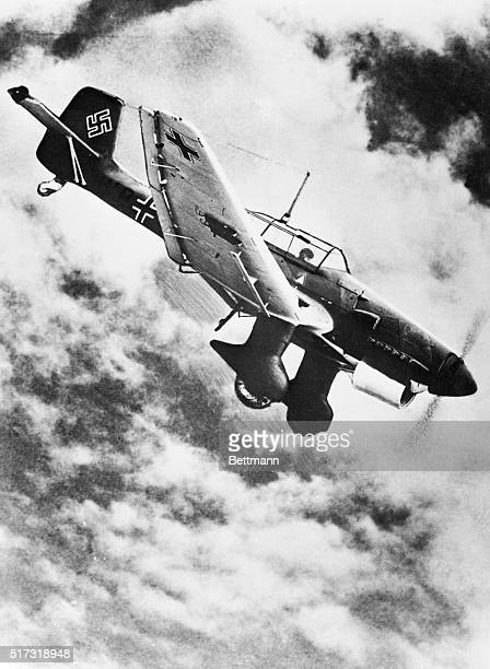 The Junkers JU 87 Stuka dive bomber virtually ruled the skys in the early years of World War II