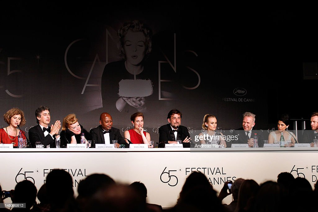 The Jury attends the Winners Press Conference during the 65th Annual Cannes Film Festival on May 27 2012 in Cannes France