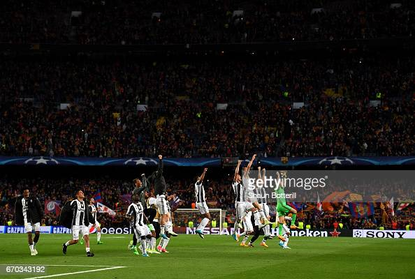 FC Barcelona v Juventus - UEFA Champions League Quarter Final: Second Leg : News Photo