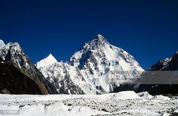 The K2 Karakoram Range Pakistan