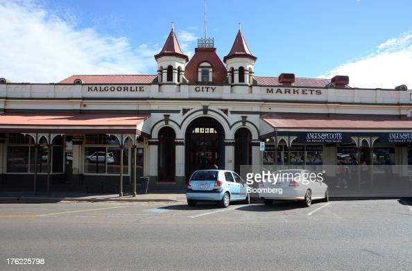 The Kalgoorlie City Markets building stands in the mining town of Kalgoorlie Australia on Thursday Aug 8 2013 Western Australia the nation's largest...