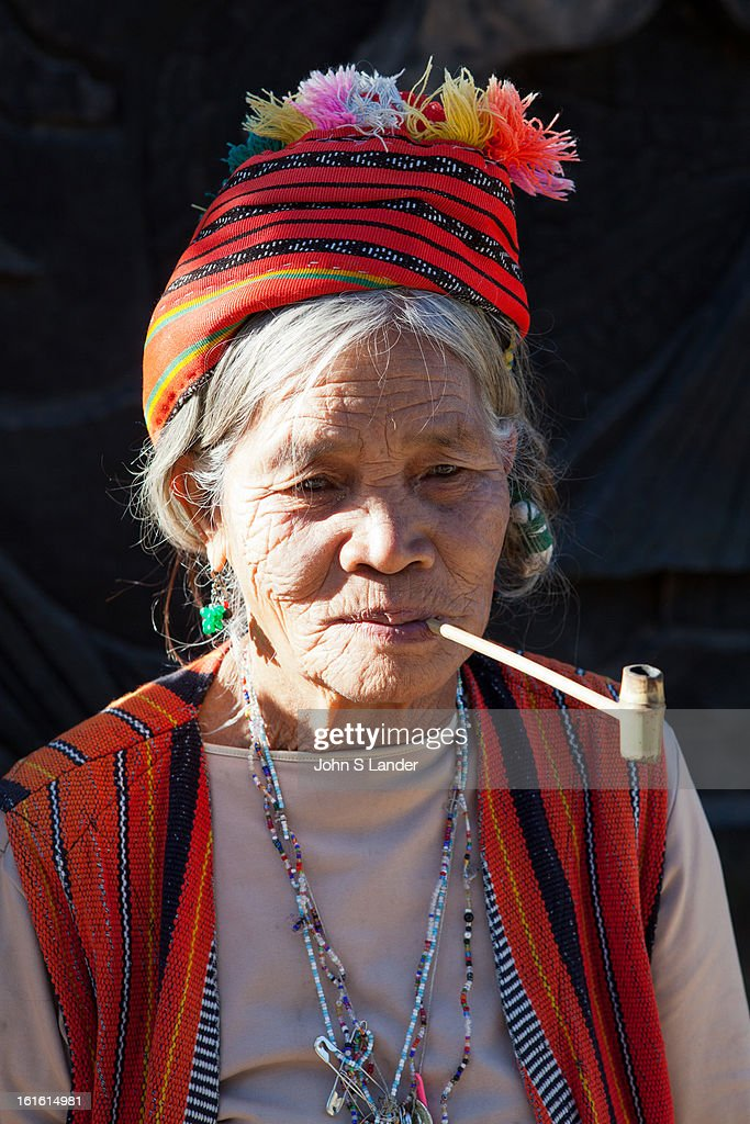 BAGUIO, BENGUET, PHILIPPINES - : The Kalingas are the indigenous people of the Kalinga. They are generally known to be tall, dark complexioned and lissome with high bridged noses. Among the Kalinga people there is a strong sense of tribal membership and filial loyalty results in frequent tribal unrest and occasional outright war. Due to the mountainous terrain and warrior culture of the people, the Kalingas were able to maintain their culture despite the attempted occupation of the Spaniards, Japanese and Americans..