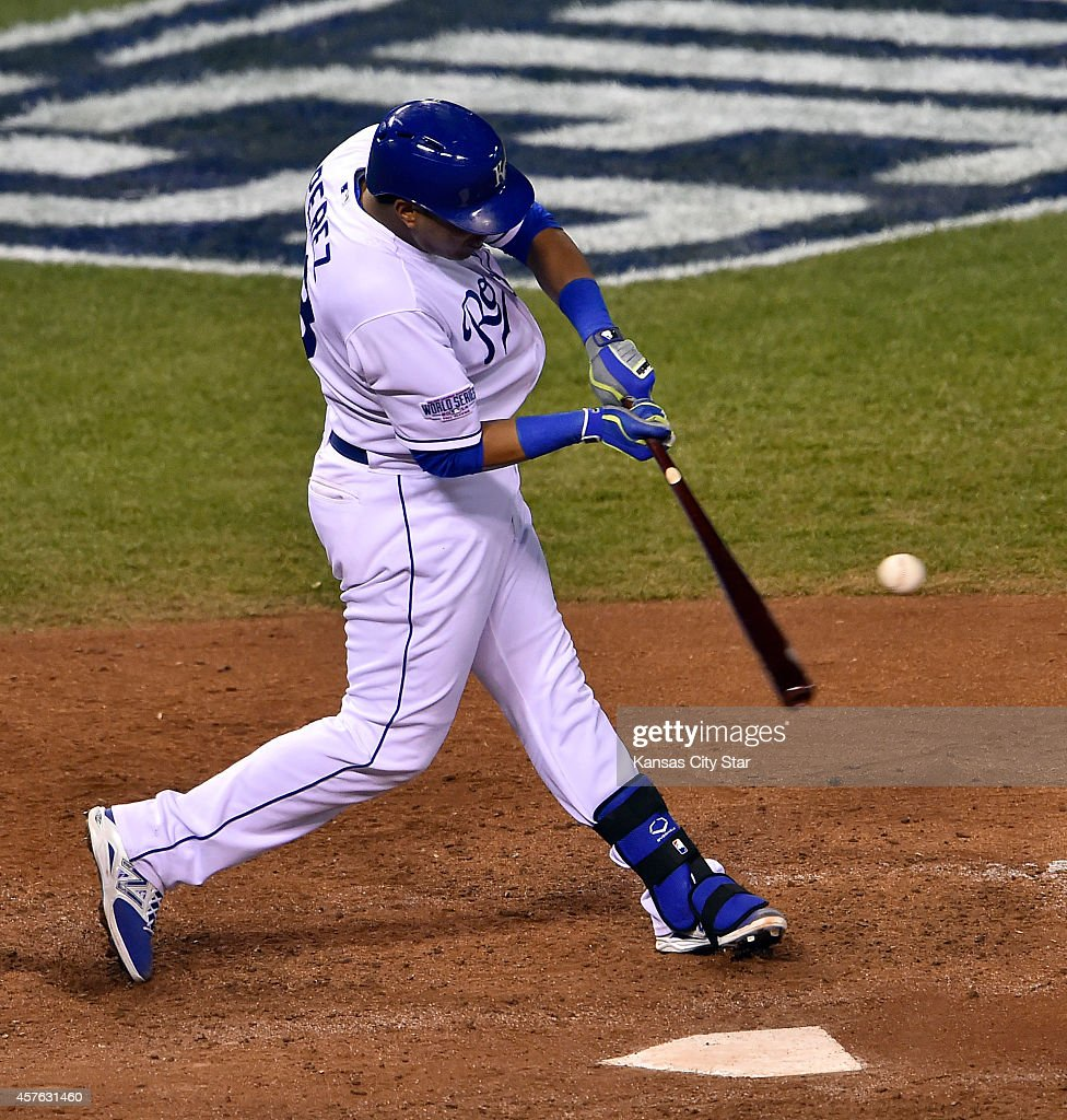 Image result for 2014 world series game 1 perez home run