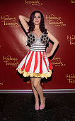 The Katy Perry wax figure is revealed at Madame Tussauds on March 24 2014 in Berlin Germany