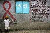 The Kenwa centre for HIV positive women made possible by donor funding December 2006 in Nairobi Kenya The empowerment of women is at the heart of the...