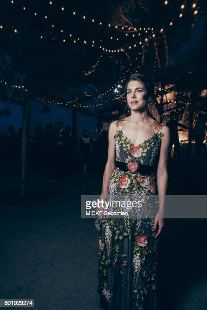 the Kering Woman in motion evening organised by Kering in Cannes Charlotte Casiraghi May 21 2017 Charlotte Casiraghi