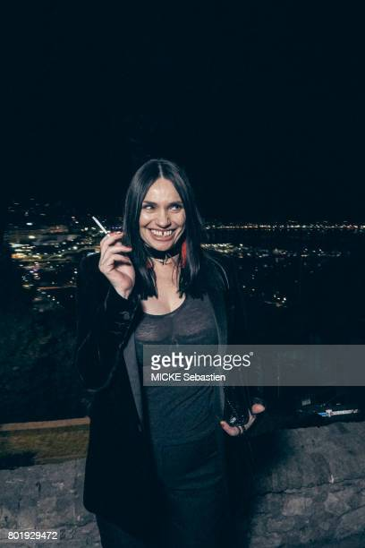 the Kering Woman in motion evening organised by Kering in Cannes Actrice Beatrice Dalle May 21 2017 Beatrice Dalle