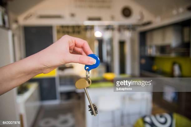 Les clés de sa nouvelle maison