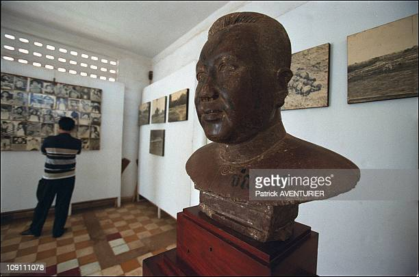 S21 The Khmer Rouge Death Machine Former Prison And Torture Center Now Houses A Genocide Museum On May 1 2003 In Phnom Penh Cambodia Bust Of Brother...