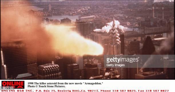 The Killer asteroid in 'Armageddon'