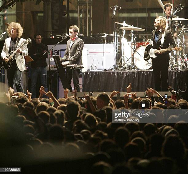 The Killers during Giant Village Presents New Year's Eve 2005 Celebration with The Killers and Paul Oakenfold at Wilshire Boulevard Downtown Los...