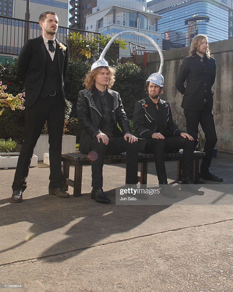 The Killers during The Killers 'Read My Mind' Video Shoot - January 10, 2007 in Tokyo, Japan.