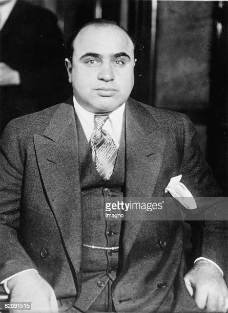 The king of gangsters Al Capone Photograph March 5th 1932 [Der Gangsterknig Al Capone Photographie51932]