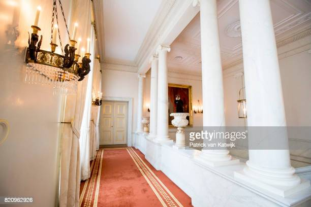 The King's stairs room in Palace Noordeinde on July 22 2017 in The Hague Netherlands Palace Noordeinde is the office of King WillemAlexander and...