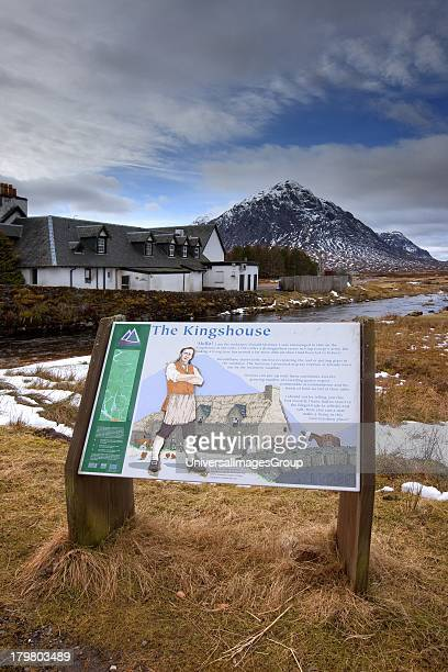 The Kingshouse with Buachaille Etive Mhor in view Glencoe Scotland United Kingdom