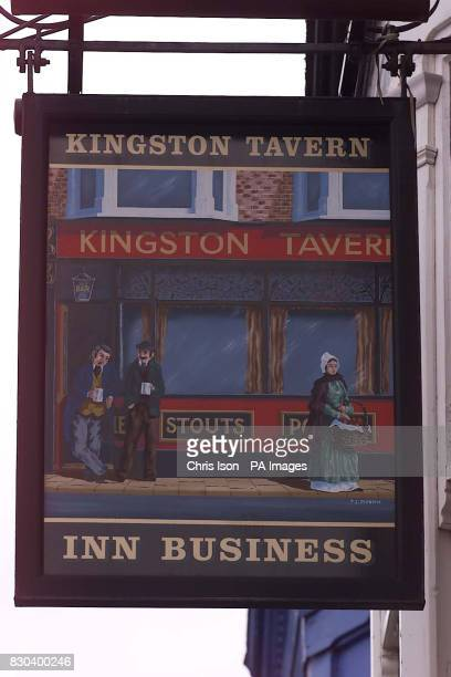 The Kingston Tavern Pub in Portsmouth where Barry Gates died after drinking heavily with the landlady Theresa Browning and her husband Kevin They are...