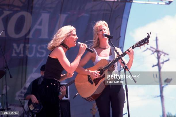 The Kinleys performing in Twin Lakes Wisconsin July 12 1998