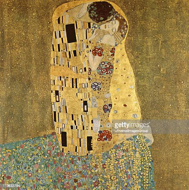 'The Kis' was painted by Gustav Klimt and is probably his most famous work He began work on it in 1907 and it is the highpoint of his socalled...