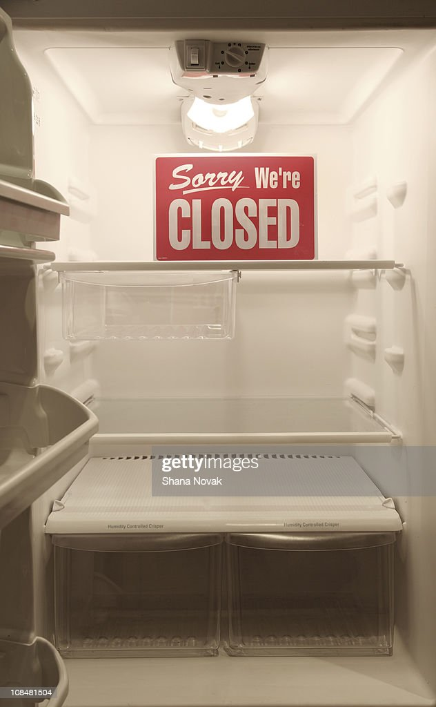 The Kitchen is Closed : Stock Photo