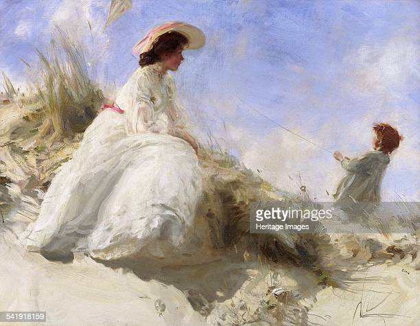 The kite' 18931928 Artist Charles Sims