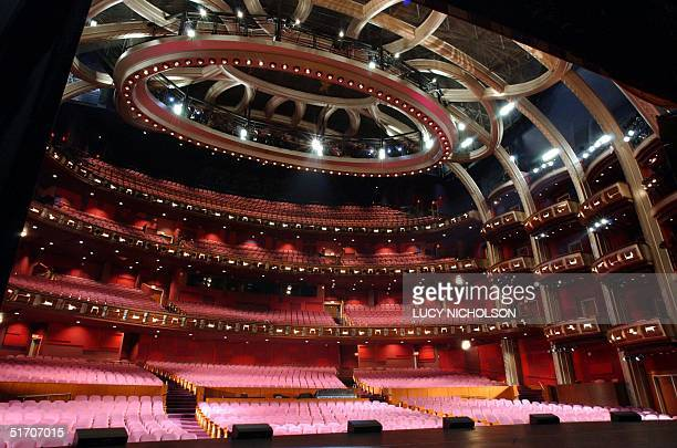 The Kodak Theatre is shown from the stage where the Academy Awards will be held in Los Angeles CA 06 February 2002 The 180000 squarefoot 3300seat...