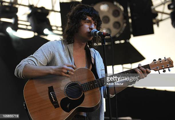 The Kooks during 2007 Coachella Valley Music and Arts Festival Day 3 at Empire Polo Field in Indio California United States