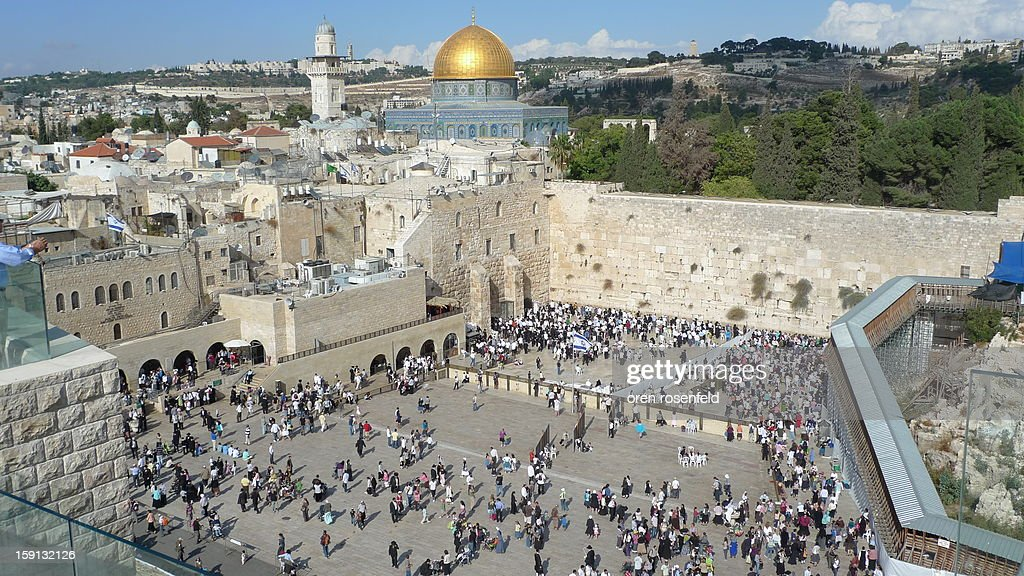 CONTENT] The 'Kotel' the western wall is the last standing remain of the Jewish Temple build by the glorious king Herod and destroyed by the Romans. This wall was part of an outer wall that surrounded the Temple and is a place of worship to the Jewish people that pray for the construction of the third temple.