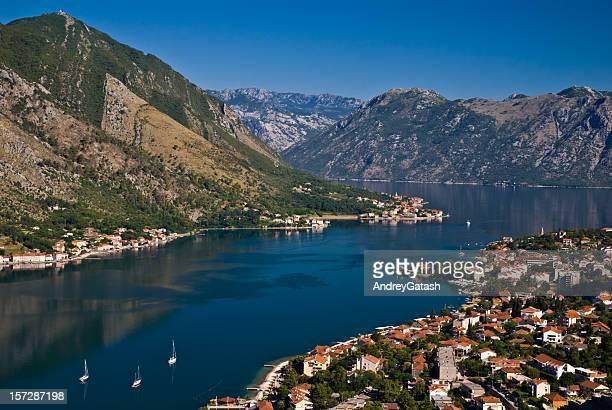 Die Bucht von Kotor (fiord