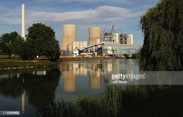 The Kraftwerk Westfallen coalburning power plant is pictured on May 23 2011 in Hamm Germany The plant operated by German utilities giant RWE Power AG...
