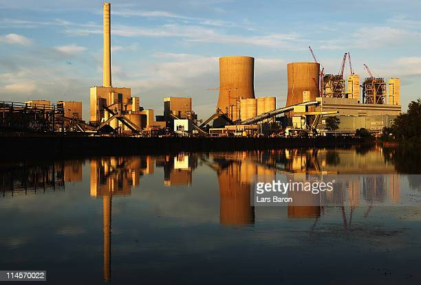 The Kraftwerk Westfallen coalburning power plant is pictured on May 23 2011 in Hamm Germany The plant operated by German utilities giant RWE Power AG...