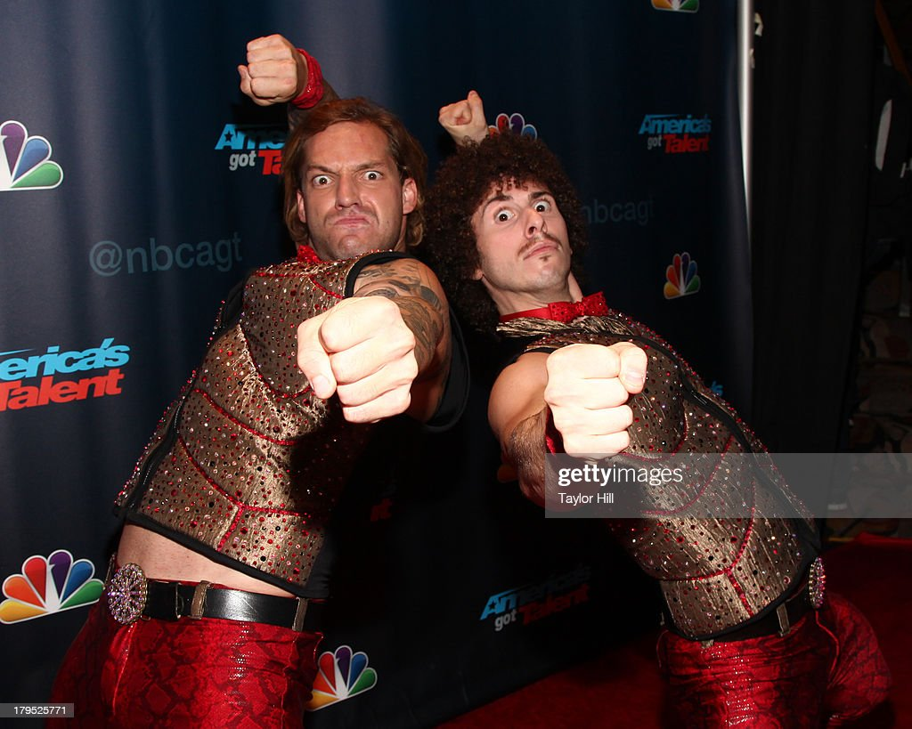 The Kristef Brothers attend the 'America's Got Talent' Season 8 Red Carpet Event at Radio City Music Hall on September 4, 2013 in New York City.
