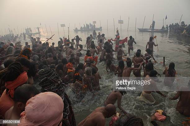 The Kumbh Mela is the single largest religious gathering in the world held at confluence of rivers Ganga and Yamuna in Allahabad it is called the...