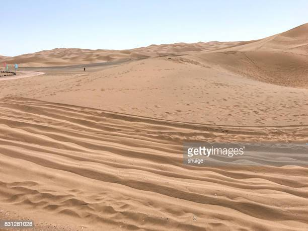 The kumuta desert of turpan, xinjiang