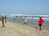 The La Area Pleasure Beach In Accra In The Greater Accra Region Of Ghana West Africa The La Beach Is The Principle Recreation Beach Area In Accra The...