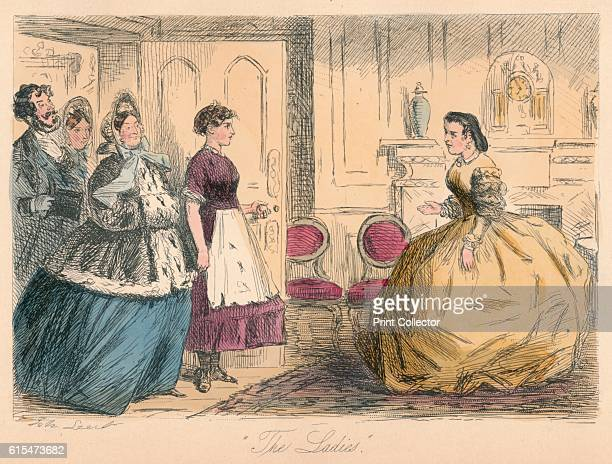 The Ladies' 1865 From Mr Facey Romford's Hounds by Robert Smith Surtees [Bradbury and Evans London 1865] Artist John Leech
