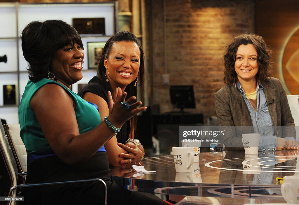 The ladies of The Talk; Sheryl Underwood, from left, Aisha Tyler and Sara Gilbert visit CBS This Morning with co-hosts Charlie Rose, Gayle King, and Norah O'Donnell on Monday, Dec. 20, 2012 on the CBS Television Network.
