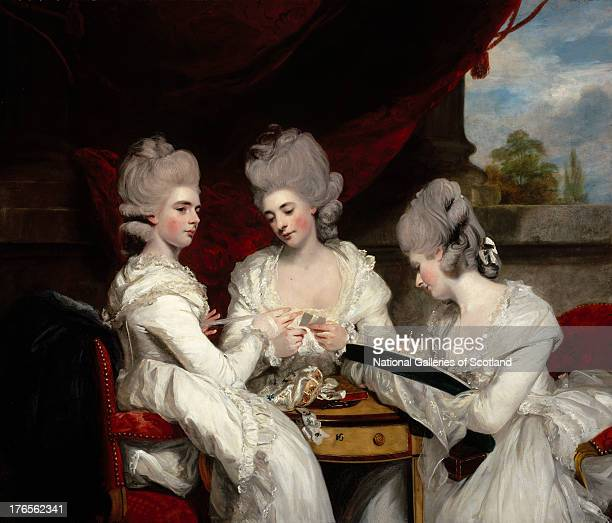 The Ladies Waldegrave by Sir Joshua Reynolds 1780 Oil on canvas Purchased with the aid of The Cowan Smith Bequest and the Art Fund 1952'